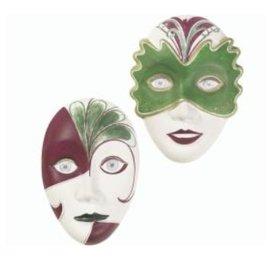 GIESSFORM / MOLDS ACCESOIRES Mold: 2 máscaras