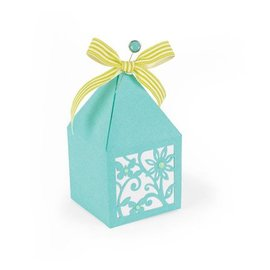 Sizzix Punching and embossing template: Box
