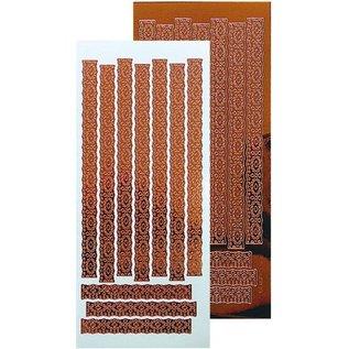 Leane Creatief - Lea'bilities Ziersticker, kantmotief 23 x 10cm