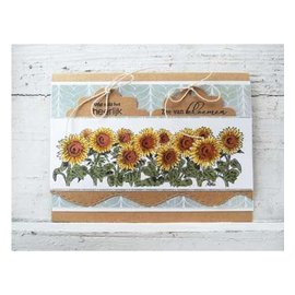 Marianne Design Transparent Stempel: Sonneblumen