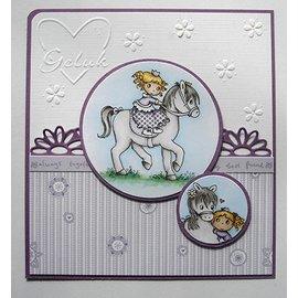 Joy!Crafts / Hobby Solutions Dies timbre Transparent: Mon petit cheval