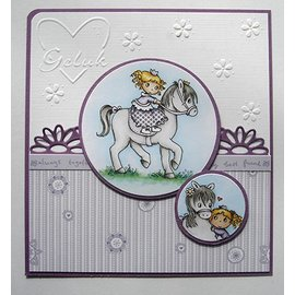 Joy!Crafts / Hobby Solutions Dies Transparent stamp: My Little Horse