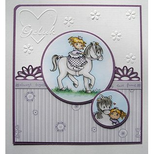 Joy!Crafts / Jeanine´s Art, Hobby Solutions Dies /  Transparent stempel: My Little Horse