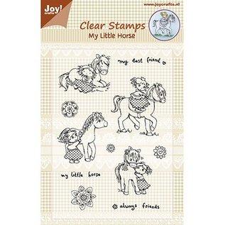 Joy!Crafts / Jeanine´s Art, Hobby Solutions Dies /  timbre Transparent: Mon petit cheval