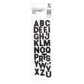 Docrafts / Papermania / Urban Puncionamento e gravação de modelo: Alfabeto - letras