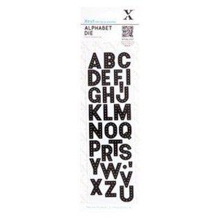 Docrafts / Papermania / Urban Stanz- und Prägeschablone: Alphabet - Buchstaben