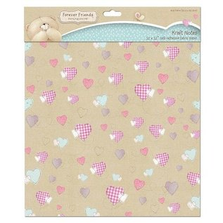 Forever Friends Forever Friends, fabric adhesive with heart