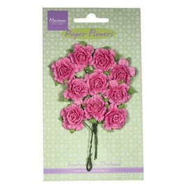 Marianne Design Paper Flower, Carnations, hell pink