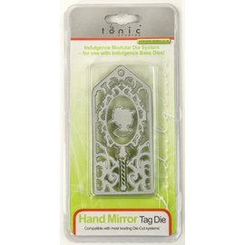 Tonic Punching and embossing template: Hand Mirror Day The