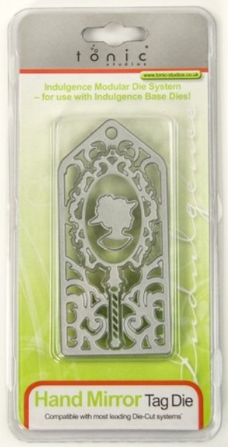 Tonic Punching And Embossing Template Hand Mirror Day The
