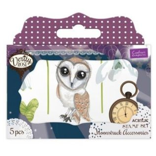 Crafter's Companion Transparent Stempelset: Verity Rose Clear Acrylic Stamps