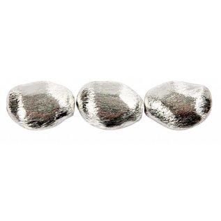 Schmuck Gestalten / Jewellery art 3 Perlenklumpen, Größe 20x15x8 mm