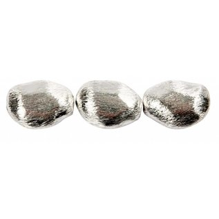 Schmuck Gestalten / Jewellery art 3 perler faste, størrelse 20x15x8 mm
