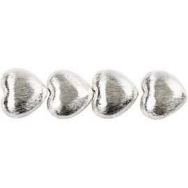 Schmuck Gestalten / Jewellery art 4 Exclusieve parel, hart, afmeting 15x10x7 mm