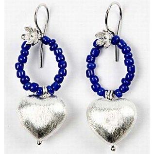 Schmuck Gestalten / Jewellery art 4 Eksklusive perle, hjerte, størrelse 15x10x7 mm