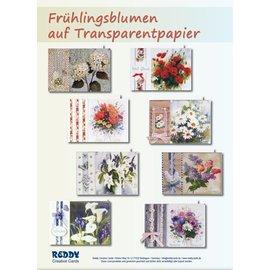 BASTELSETS / CRAFT KITS Flores da mola no papel transparente: Bastelset