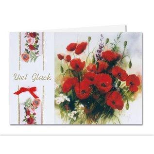 BASTELSETS / CRAFT KITS Bastelset: Frühlingsblumen auf transparentpapier