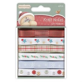 Forever Friends 6 X 1m satin ribbon, Forever Friends