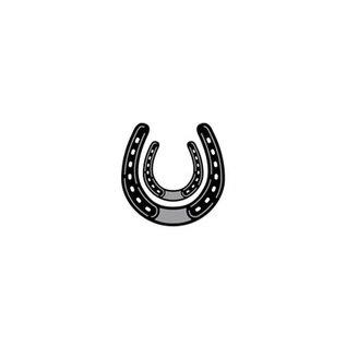 Marianne Design Stansning og prægning skabelon: Horseshoe
