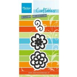 Marianne Design Estampagem e gravação stencil: Jogo da flor: Fantasia