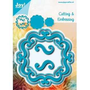 Joy!Crafts / Hobby Solutions Dies Stansning og prægning skabelon: Dekorative ornamental ramme