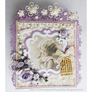 Joy!Crafts / Jeanine´s Art, Hobby Solutions Dies /  Poinçonnage et modèle de gaufrage: cadre ornemental décoratif