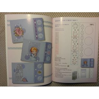 Bücher und CD / Magazines Book with many templates: Embroidering on map