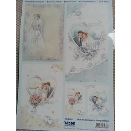 BILDER / PICTURES: Studio Light, Staf Wesenbeek, Willem Haenraets Contexte arc + feuilles coupées, thème: mariage, fiançailles