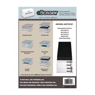 Crafter's Companion eBosser: Set mit alle Original EBosser Platte