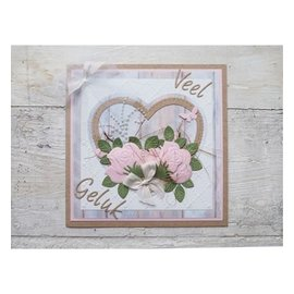 Marianne Design Punching and embossing template: Rose