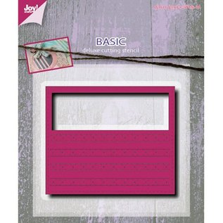 Joy!Crafts / Jeanine´s Art, Hobby Solutions Dies /  Punching and embossing template: Mery's rectangle fantasy