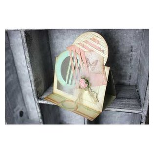 Joy!Crafts / Jeanine´s Art, Hobby Solutions Dies /  Poinçonnage et gaufrage modèle: rectangle fantaisie de Mery