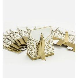 DEKO HOCHZEIT: SELBER MACHEN embalagem bonita: para caixas dobráveis