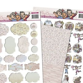 Yvonne Creations 3D SET, Party und Feiern mit Minis & Labels