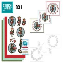 Komplett Sets / Kits Bastelset para a concepção de 3 cartas!