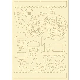 Pronty carton souple, 22er vintage set