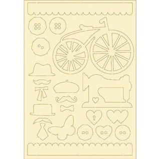 Pronty Softkarton, 22er Set vintage