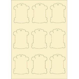 Pronty Softkarton, 9er Set vintage