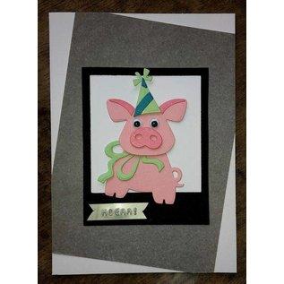 Marianne Design Stanz- und Prägeschablonen: Schweinchen