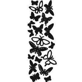 Marianne Design Ponsen en embossing sjabloon: Butterflies