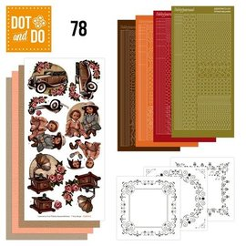 Komplett Sets / Kits Complete Bastelset: Dot et Th 78, Vintage