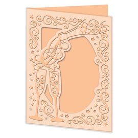 Docrafts / X-Cut Ponsen en embossing sjabloon: