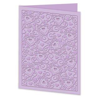 Docrafts / Papermania / Urban NIEUW: een embossing folders van zugleicherzeit onder de indruk en stoten!