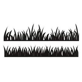 Marianne Design Stempling og prægning stencil, græs