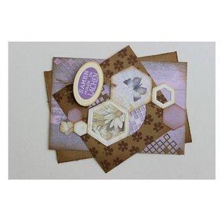 Joy!Crafts / Hobby Solutions Dies Stanz- und Prägeschablone, Basic Mery hexagonal