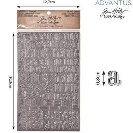 Embellishments / Verzierungen Advantus Tim Holtz nijvere sticker letters