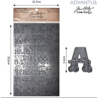 Embellishments / Verzierungen Advantus Tim Holtz lettres autocollantes industrieuse