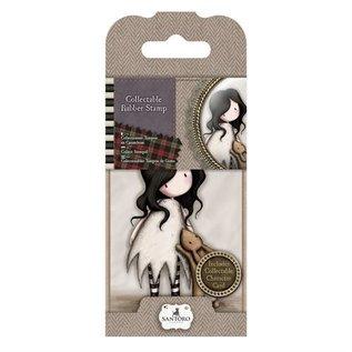 Gorjuss / Santoro Mini Stempel, Santoro Nr. 8: Ich liebe Dich kleiner Hase