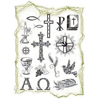 VIVA DEKOR (MY PAPERWORLD) Transparent Stempel, Thema: religiöse Anlässe