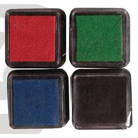Mini Mascara ink pad, set of 4
